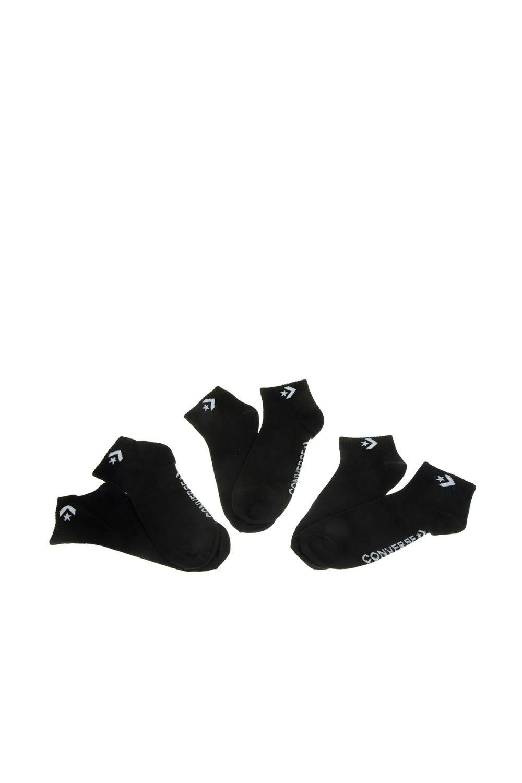 CONVERSE - Ανδρικές κάλτσες σετ των 3 CONVERSE μαύρες
