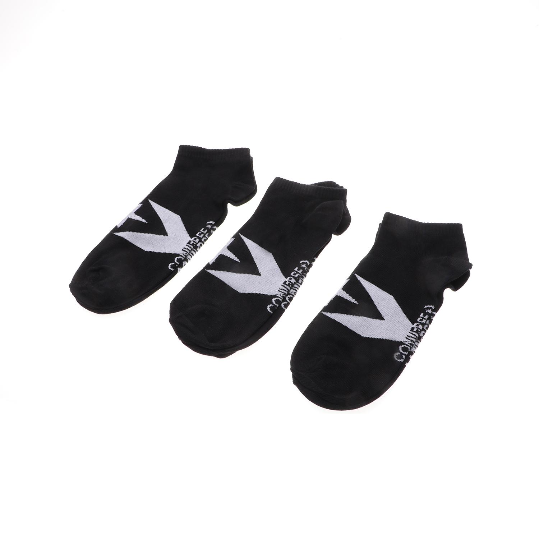 CONVERSE - Ανδρικές κάλτσες σετ των 3 Converse Boom Star C μαύρες