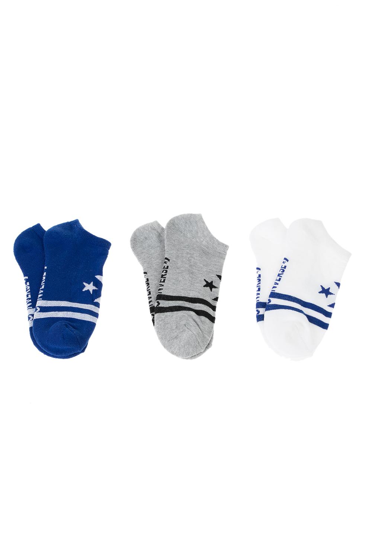CONVERSE - Ανδρικές κάλτσες σετ των 3 CONVERSE Vintage star chevron μπλε λευκό γκρι