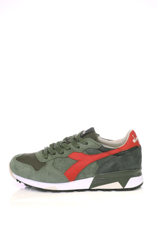DIADORA – Ανδρικά παπούτσια running TRIDENT 90 S DIADORA λαδί κόκκινα