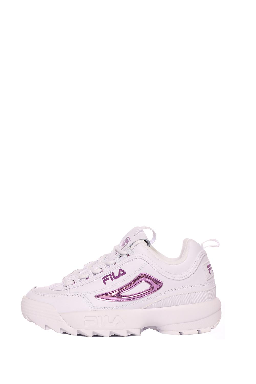 FILA – Γυναικεία sneakers DISRUPTOR II METALLIC λευκά μωβ
