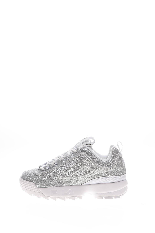 FILA – Γυναικεία sneakers FILA DISRUPTOR II GLIMMER ασημί