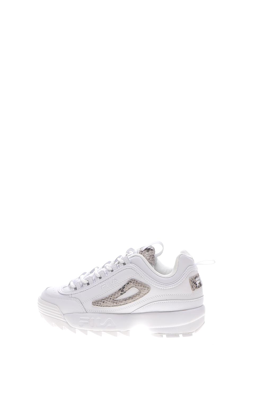 FILA – Γυναικεία sneakers FILA DISRUPTOR II SNAKE λευκά