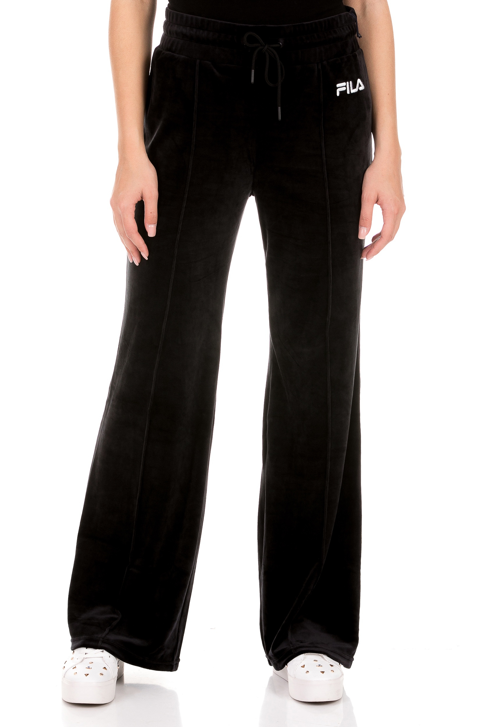 FILA - Γυναικείο παντελόνι φόρμας FILA ASTRID μαύρο