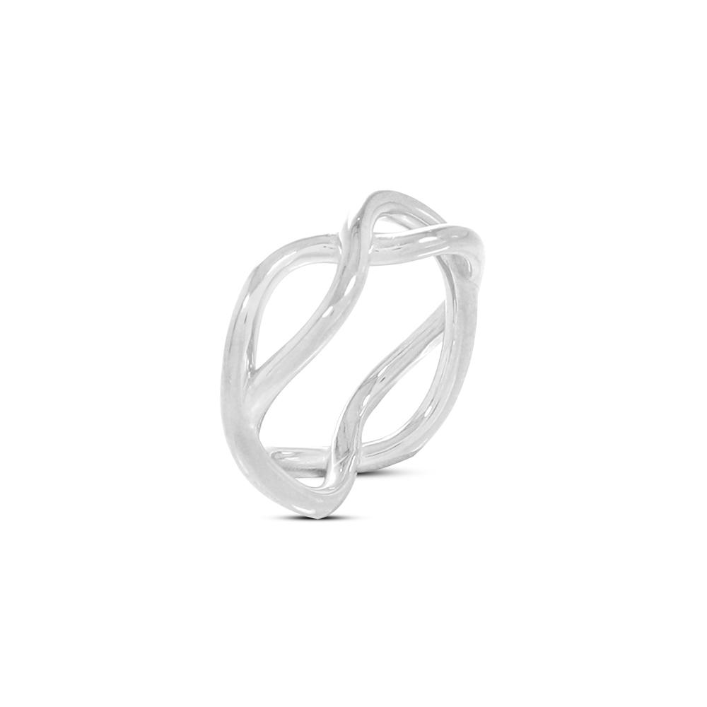 FOLLI FOLLIE - Γυναικείο δαχτυλίδι FOLLI FOLLIE Fluidity Color ασημί