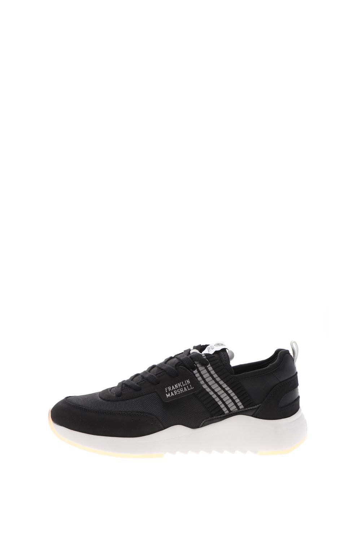 FRANKLIN & MARSHALL – Ανδρικά sneakers FRANKLIN & MARSHALL ALPHA BASE μαύρα