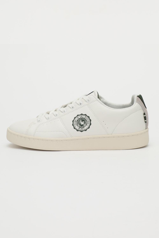 FRANKLIN & MARSHALL – Ανδρικά sneakers FRANKLIN & MARSHALL SIGMA_SIGN λευκά