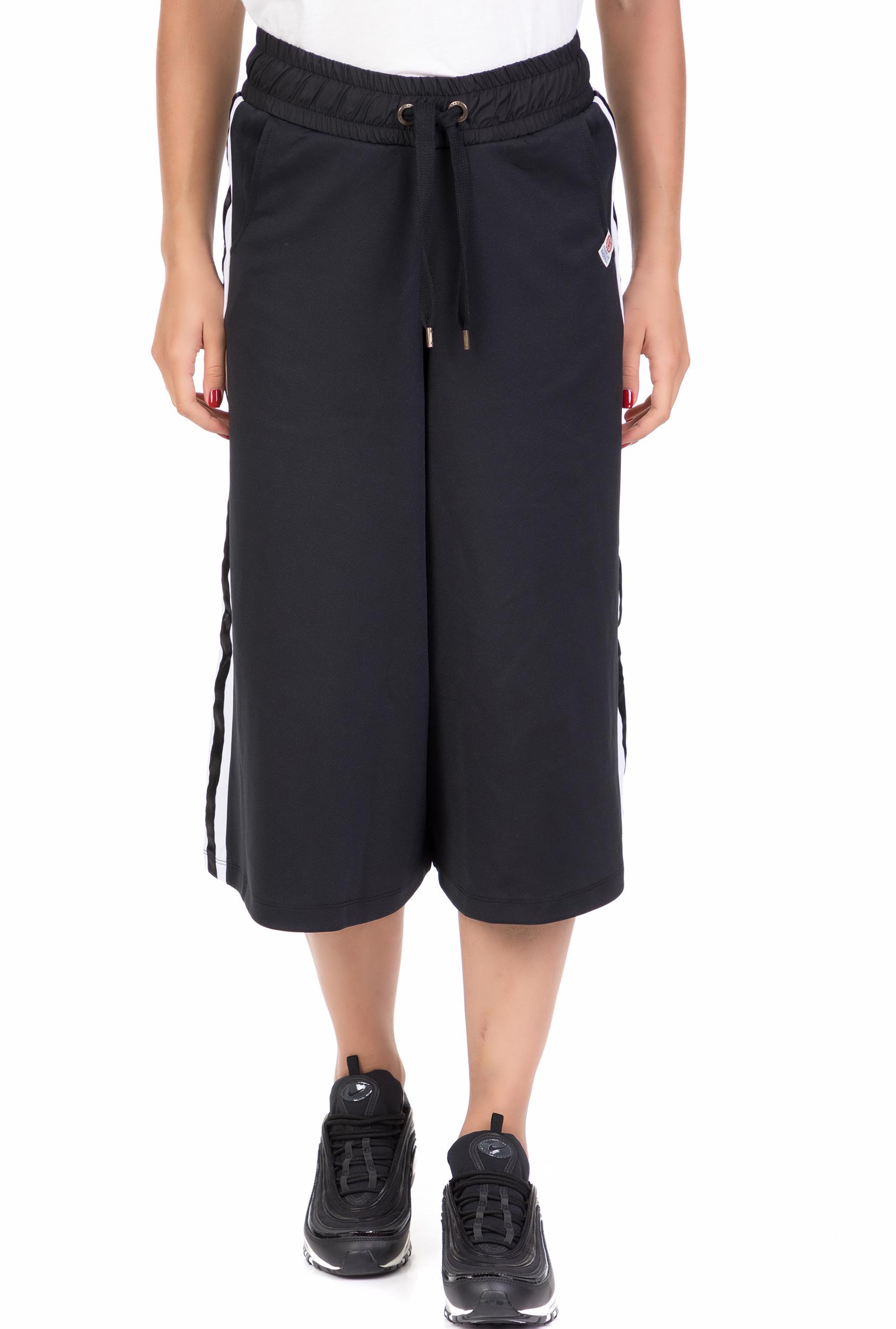 50c5981c34e LA DOLLS - Γυναικεία παντελόνα La Dolls μαύρη - γκρι