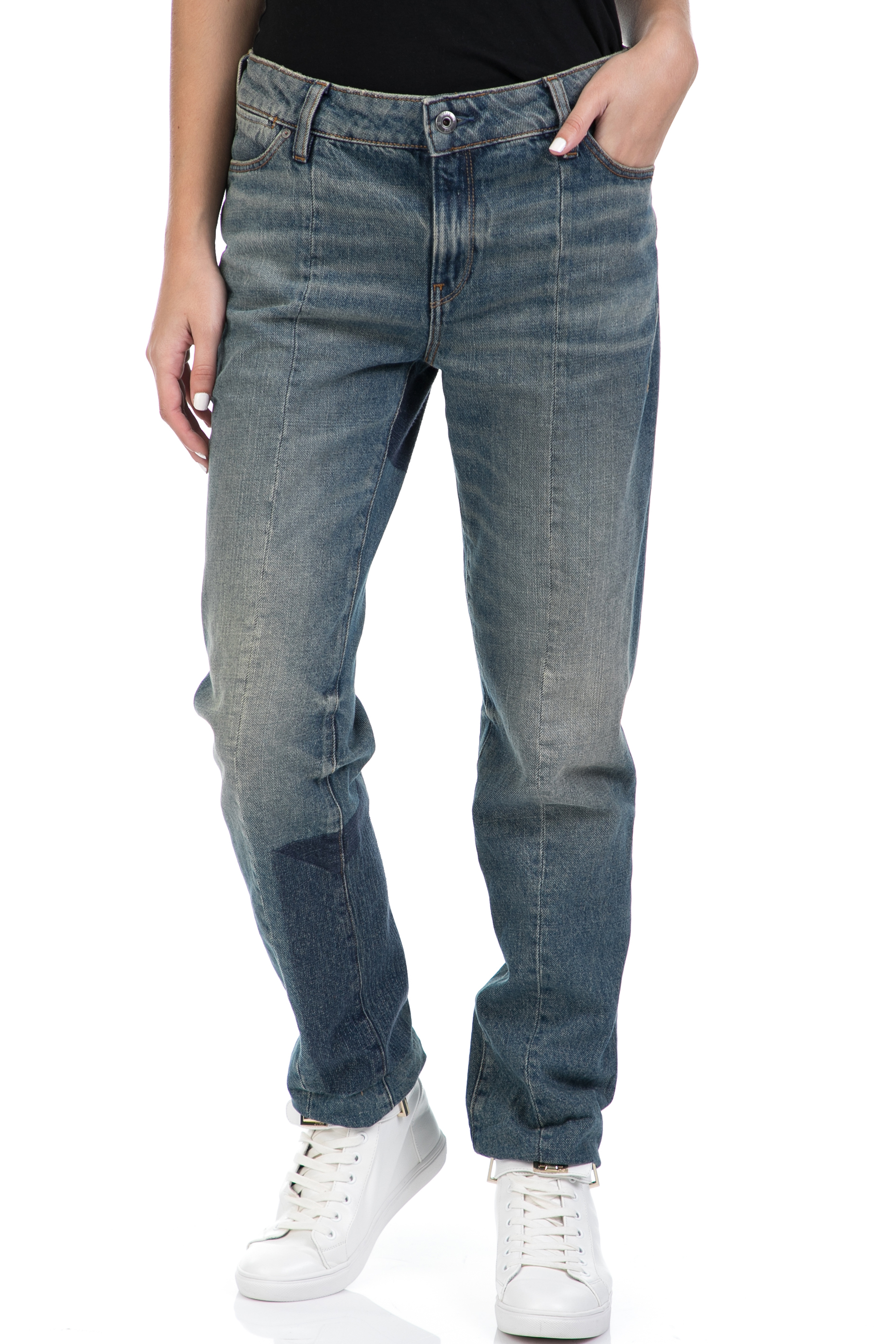 G-STAR - Γυναικείο τζιν παντελόνι G-STAR RAW μπλε