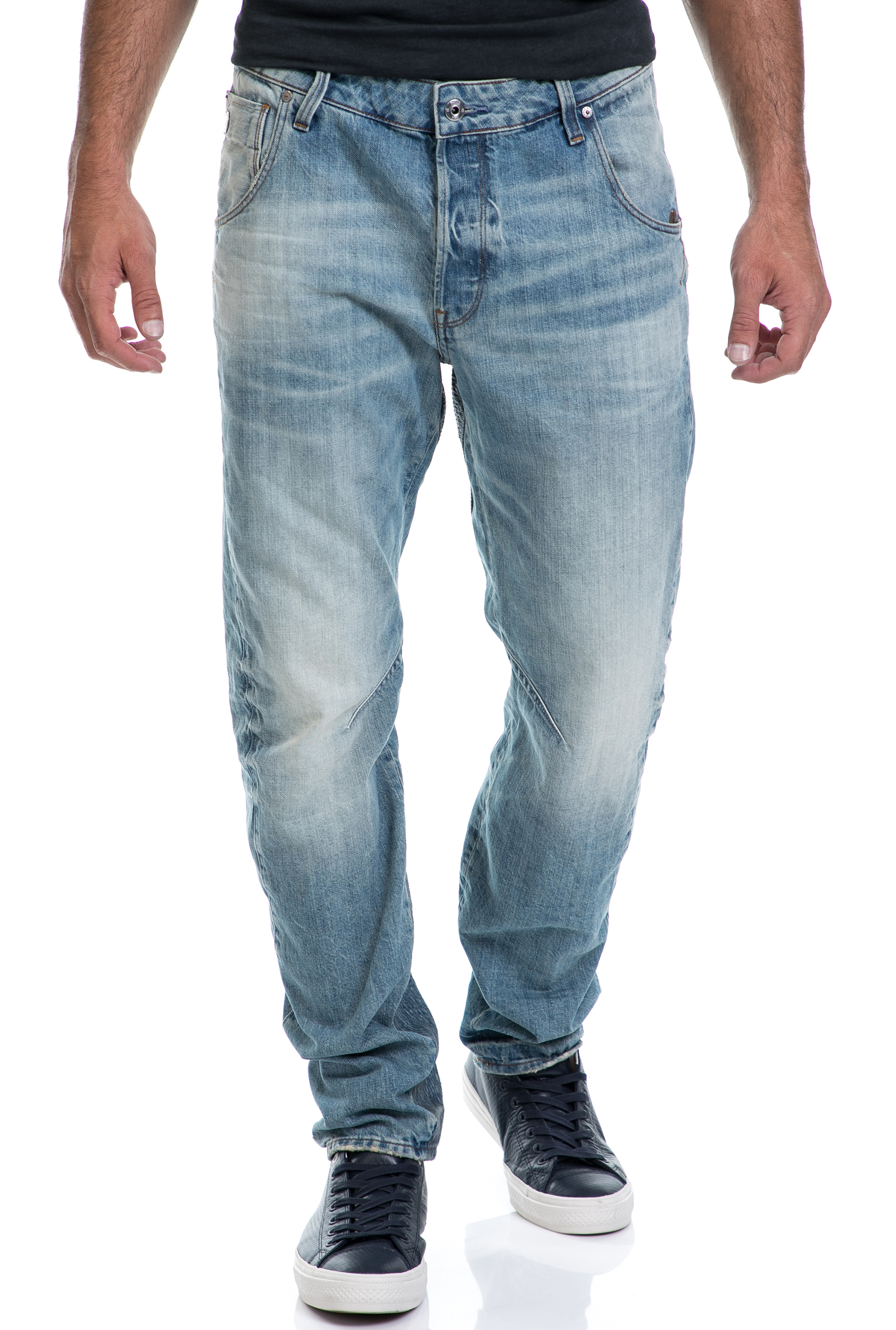 bd75b7aa4ade G-STAR RAW - Ανδρικό παντελόνι Arc 3D Tapered Prestored G-STAR RAW μπλε