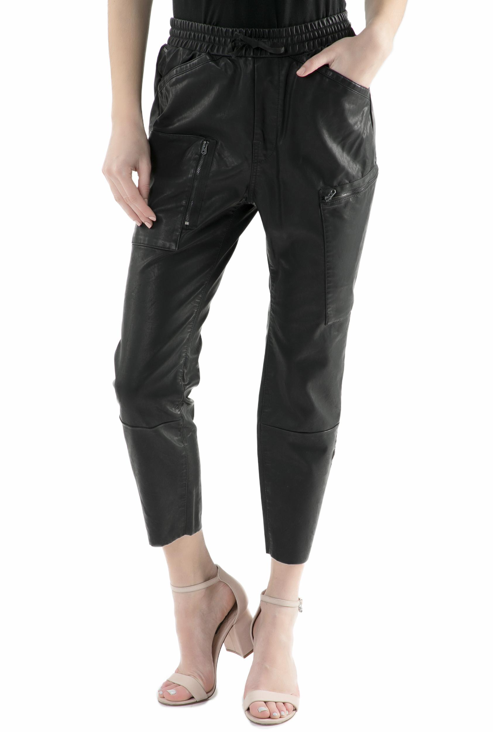 G-STAR RAW - Γυναικείο cropped παντελόνι G-Star Raw μαύρο
