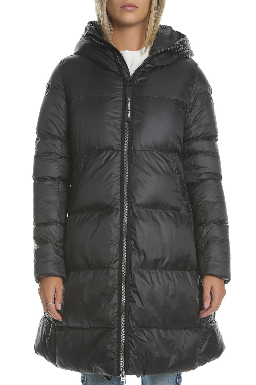 G-STAR - Γυναικείο μακρύ φουσκωτό μπουφάν G-STAR RAW μαύρο d0b49693535