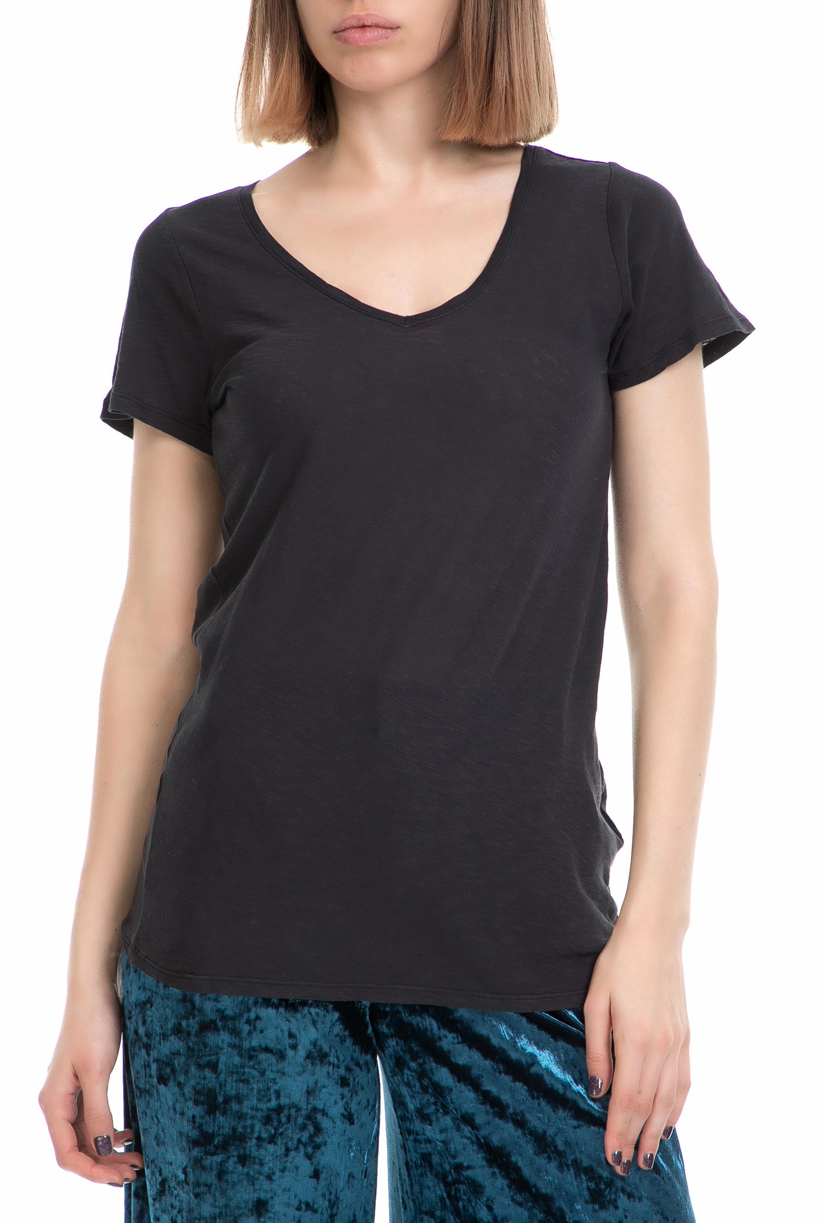 GARCIA JEANS - Γυναικείο T-shirt Donna GARCIA JEANS μαύρο