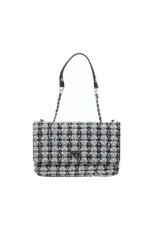 GUESS - Γυναικεία τσάντα ώμου GUESS λευκή μαύρη