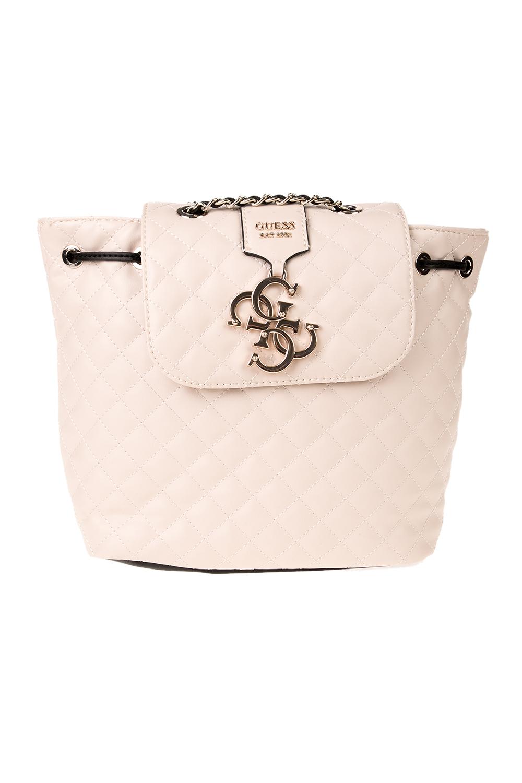 GUESS - Γυναικεία τσάντα πλάτης GUESS μπεζ