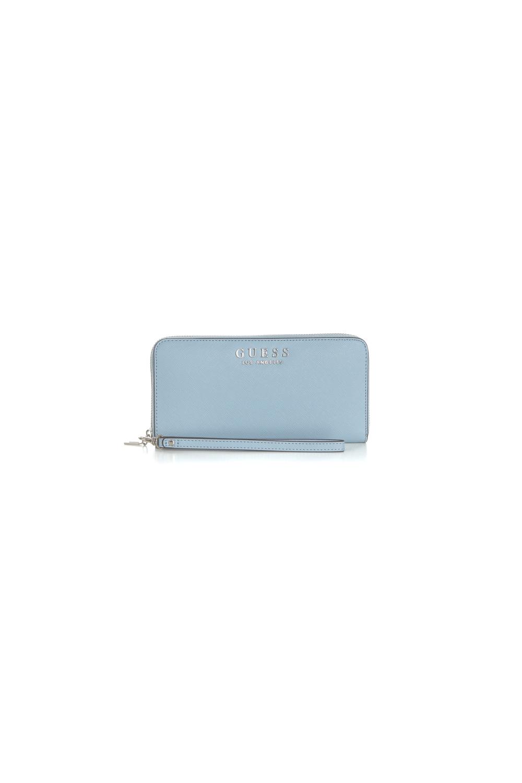 4f99faa950d GUESS - Γυναικείο πορτοφόλι με φερμουάρ ROBYN GUESS γαλάζιο