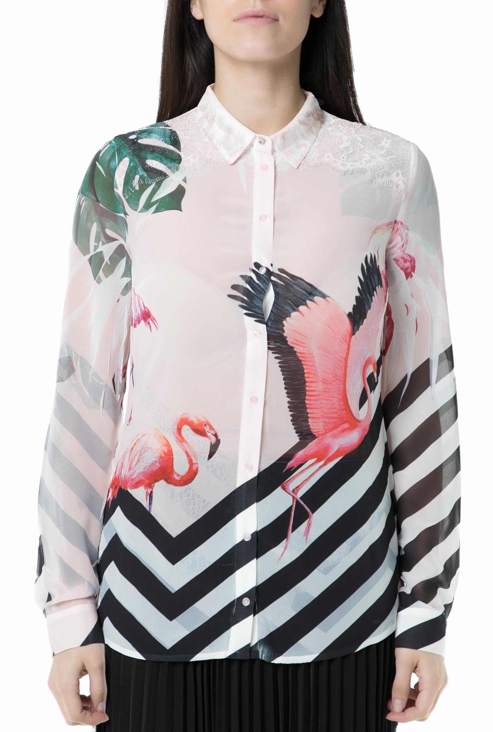 394ba5cc66 GUESS - Γυναικείο πουκάμισο GUESS με μοτίβο