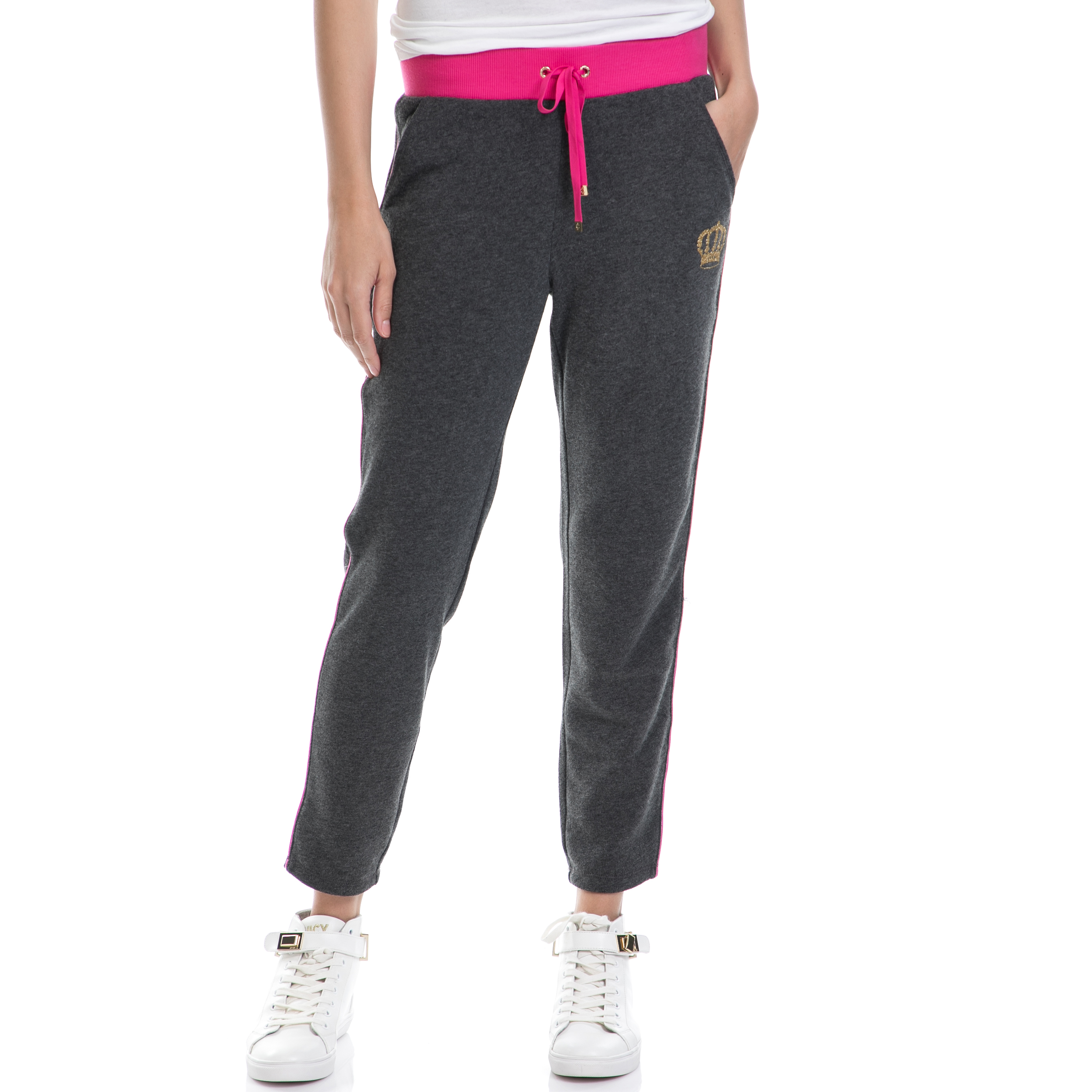 0d1bd9c4a5b3 CollectiveOnline JUICY COUTURE - Γυναικείο παντελόνι JUICY COUTURE γκρι