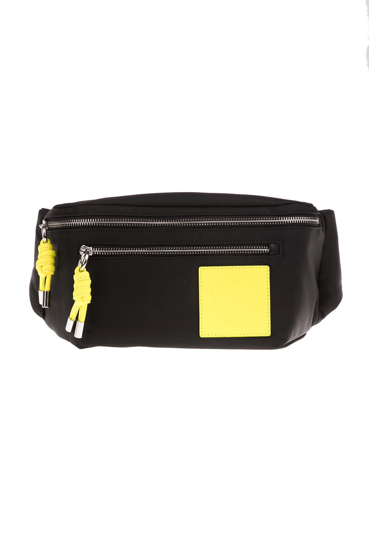 KARL LAGERFELD - Γυναικεία τσάντα μέσης KARL LAGERFELD K/Neon Bumbag μαύρη