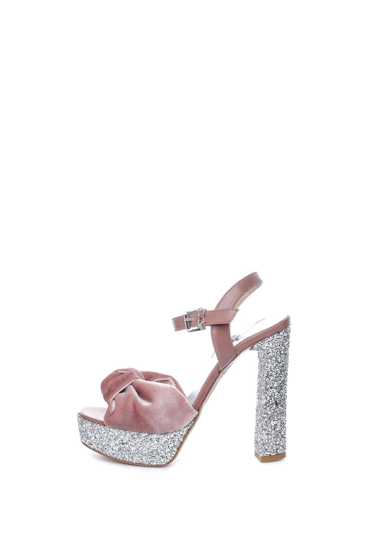 -30% Collective Online KARL LAGERFELD – Γυναικεία πέδιλα Karl Lagerferd ροζ  με στρας f26547ab162