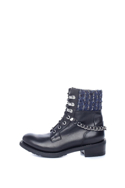 KARL LAGERFELD – Γυναικεία μποτάκια Lace Boot Mix μαύρα