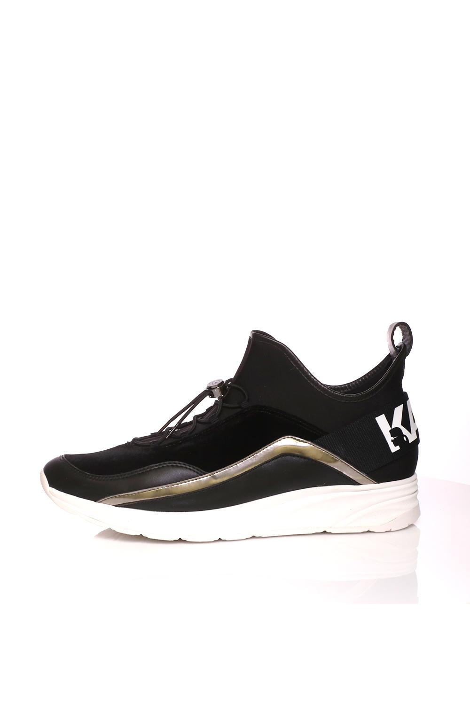 6fbcea5e717 Collective Online KARL LAGERFELD – Ανδρικά παπούτσια VEKTOR μαύρα