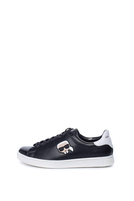 KARL LAGERFELD – Ανδρικά sneakers Karl Lagerferd μαύρα