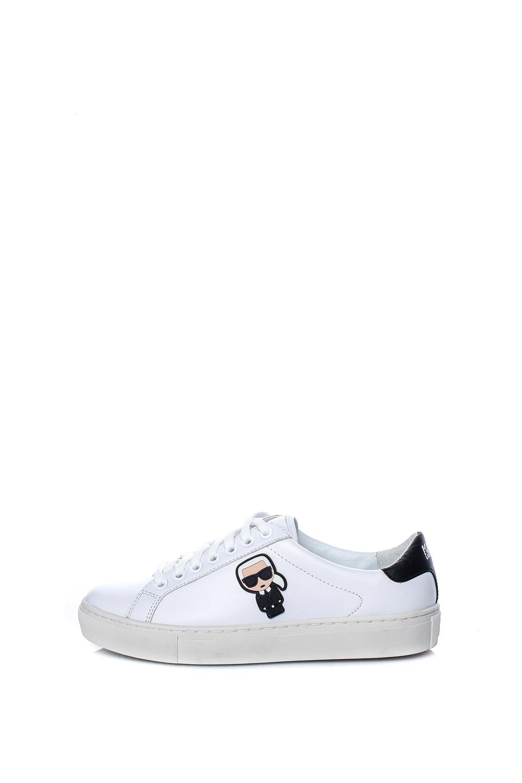 KARL LAGERFELD – Γυναικεία sneakers KUPSOLE KARL LAGERFELD λευκά