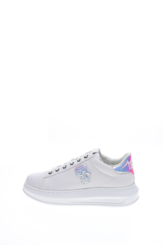 KARL LAGERFELD – Γυναικεία sneakers KARL LAGERFELD Karl Ikonic Lo Lace λευκά