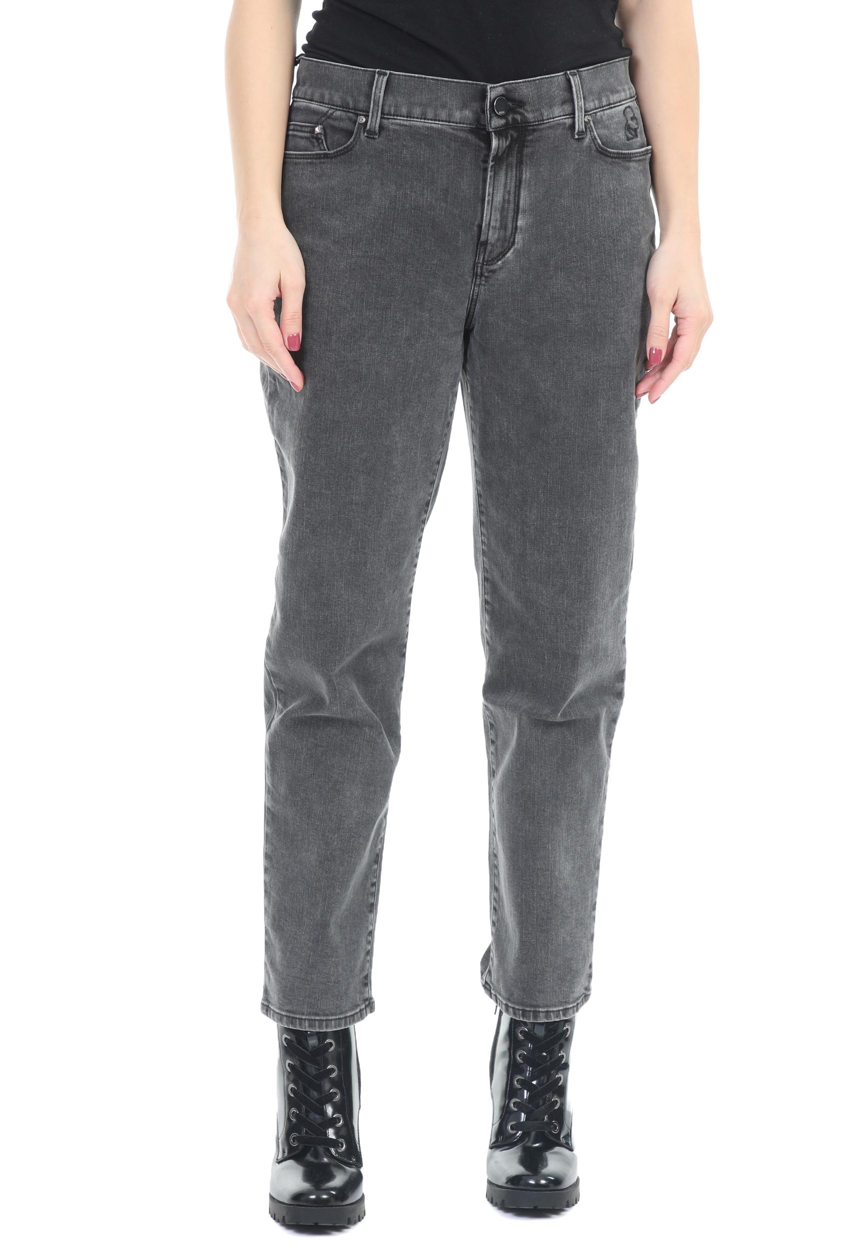 KARL LAGERFELD - Γυναικείο τζιν παντελόνι KARL LAGERFELD σκούρο γκρι