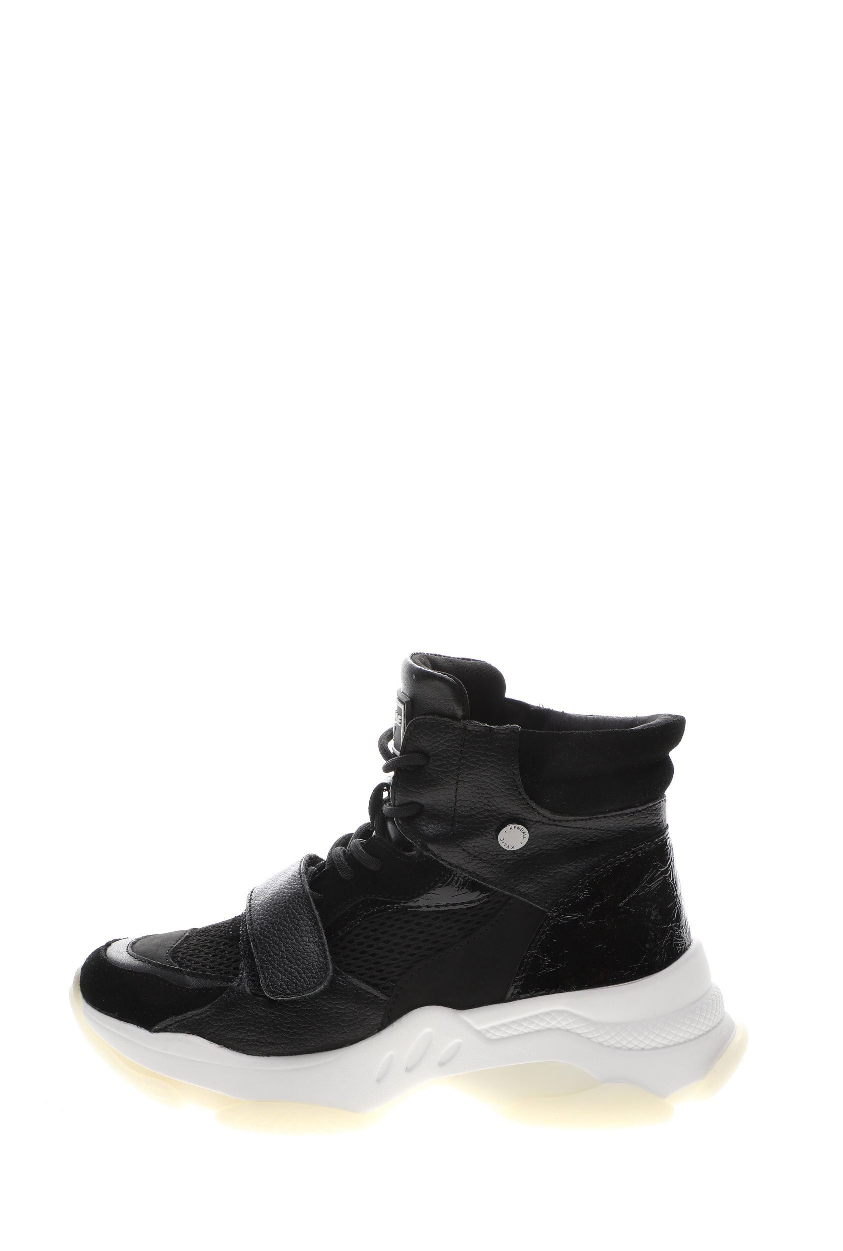 KENDALL+KYLIE – Γυναικεία μποτάκια sneakers KENDALL+KYLIE ZERA μαύρα