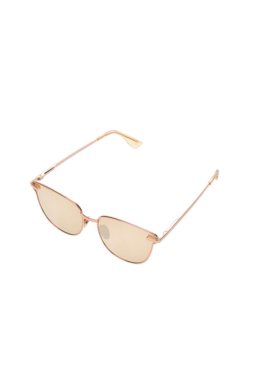 9244de576a LE SPECS - Unisex μεταλλικά γυαλιά ηλίου LE SPECS PHARAOH καφέ