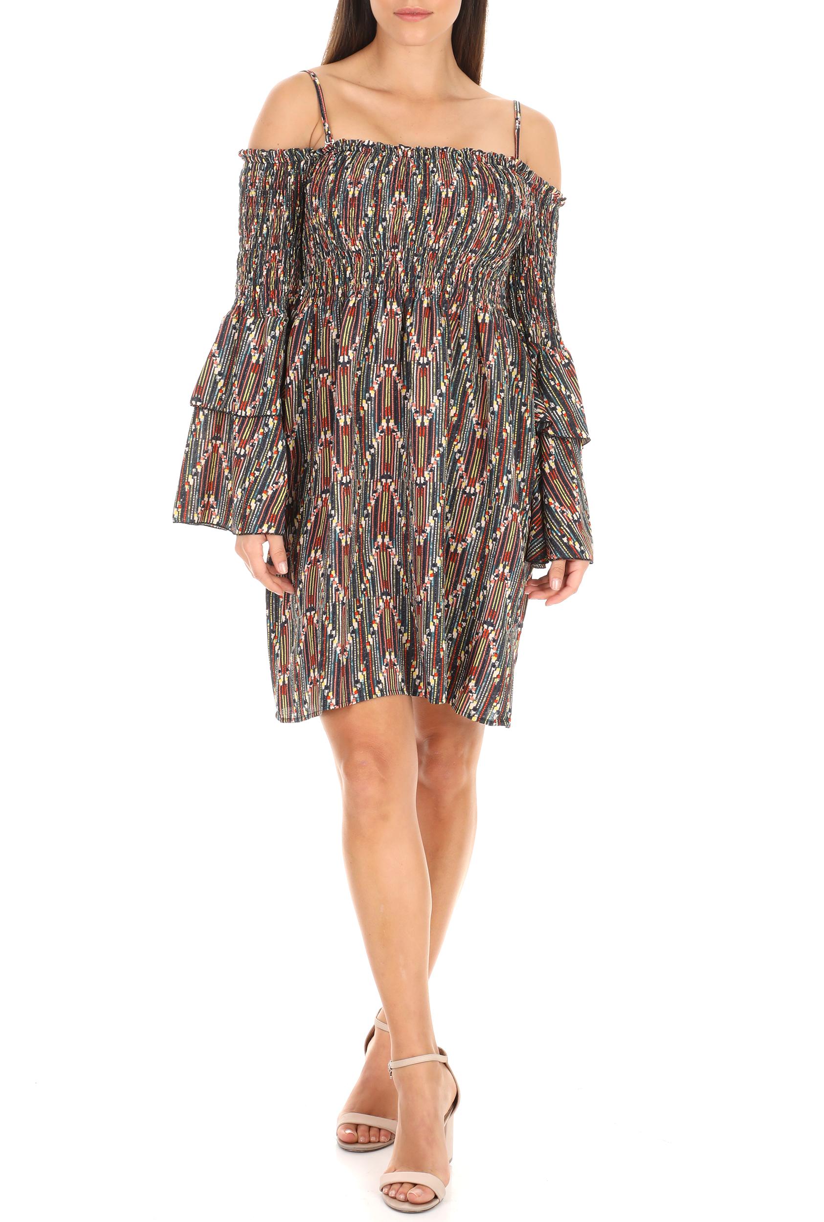 MOLLY BRACKEN - Γυναικείο φόρεμα MOLLY BRACKEN με μοτίβο γυναικεία ρούχα φόρεματα μίνι