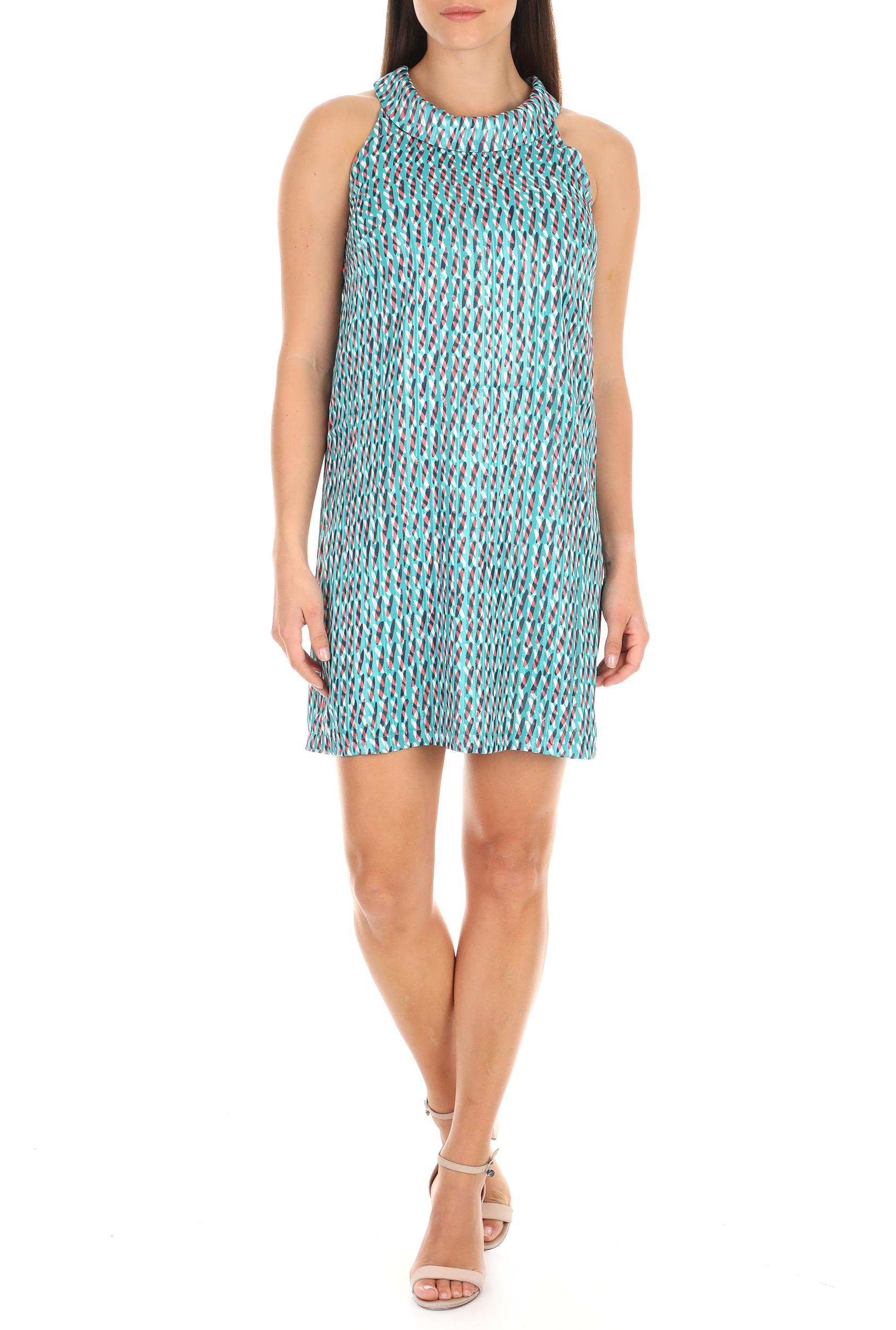 MOLLY BRACKEN - Γυναικείο φόρεμα MOLLY BRACKEN μπλε γυναικεία ρούχα φόρεματα μίνι