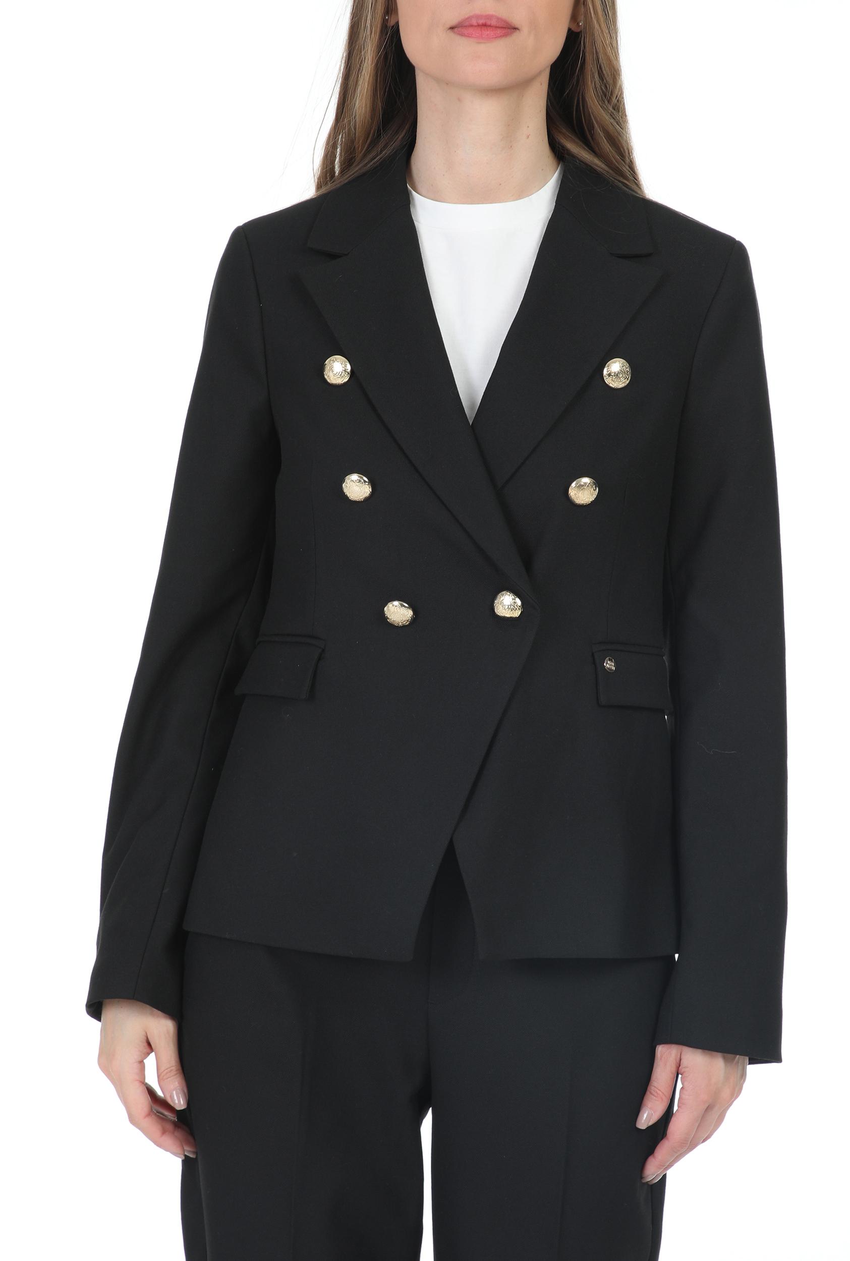 MOS MOSH - Γυναικείο σακάκι MOS MOSH Beliz Twiggy Blazer μάυρο