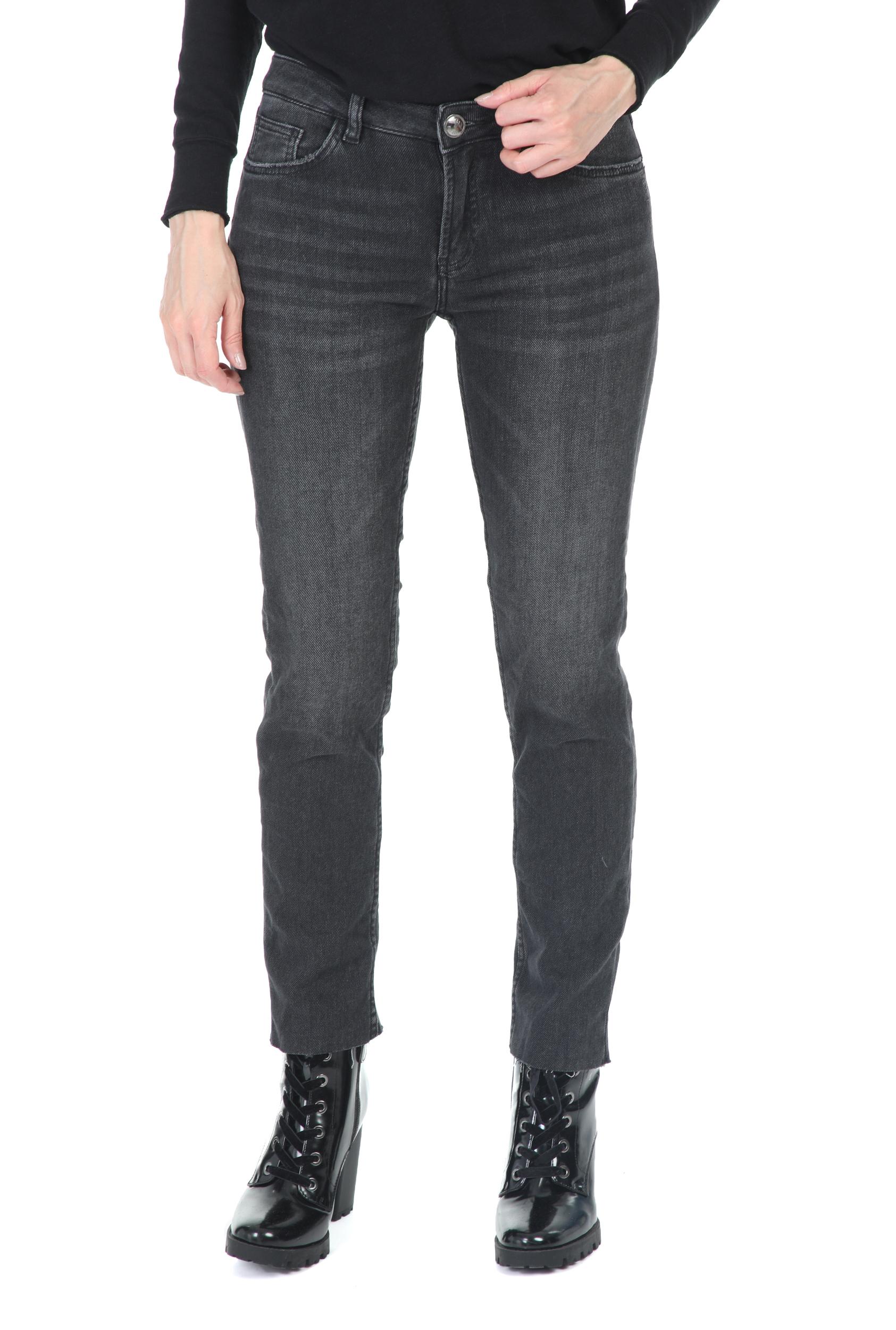 MOS MOSH - Γυναικείο παντελόνι τζιν MOS MOSH Ava Jeans γκρί-ανθρακί