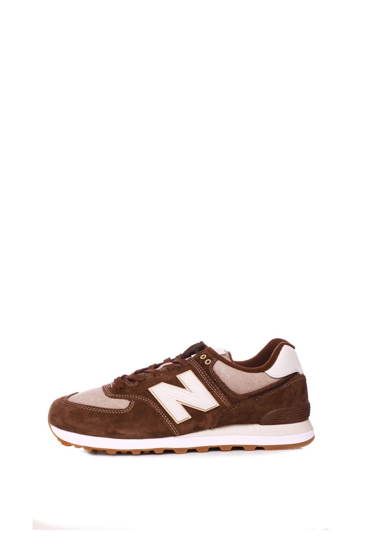 NEW BALANCE – Ανδρικά sneakers NEW BALANCE 574 καφέ
