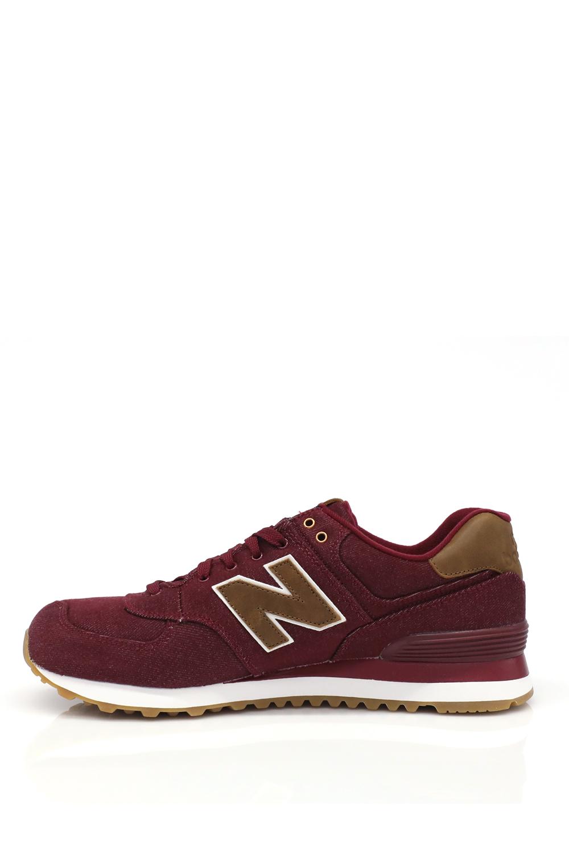NEW BALANCE – Ανδρικά sneakers NEW BALANCE μπορντό