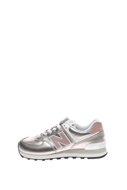 NEW BALANCE – Γυναικεία sneakers New Balance 574 SHOES CLASSIC RUNNING ασημί ροζ