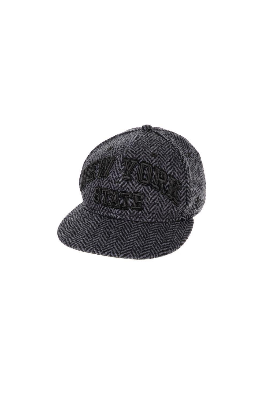 NEW ERA - Unisex καπέλο NEW ERA HERRING ARCH γκρι-μαύρο