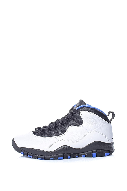 NIKE – Ανδρικά παπούτσια μπάσκετ AIR JORDAN 10 RETRO NIKE λευκά-μαύρα