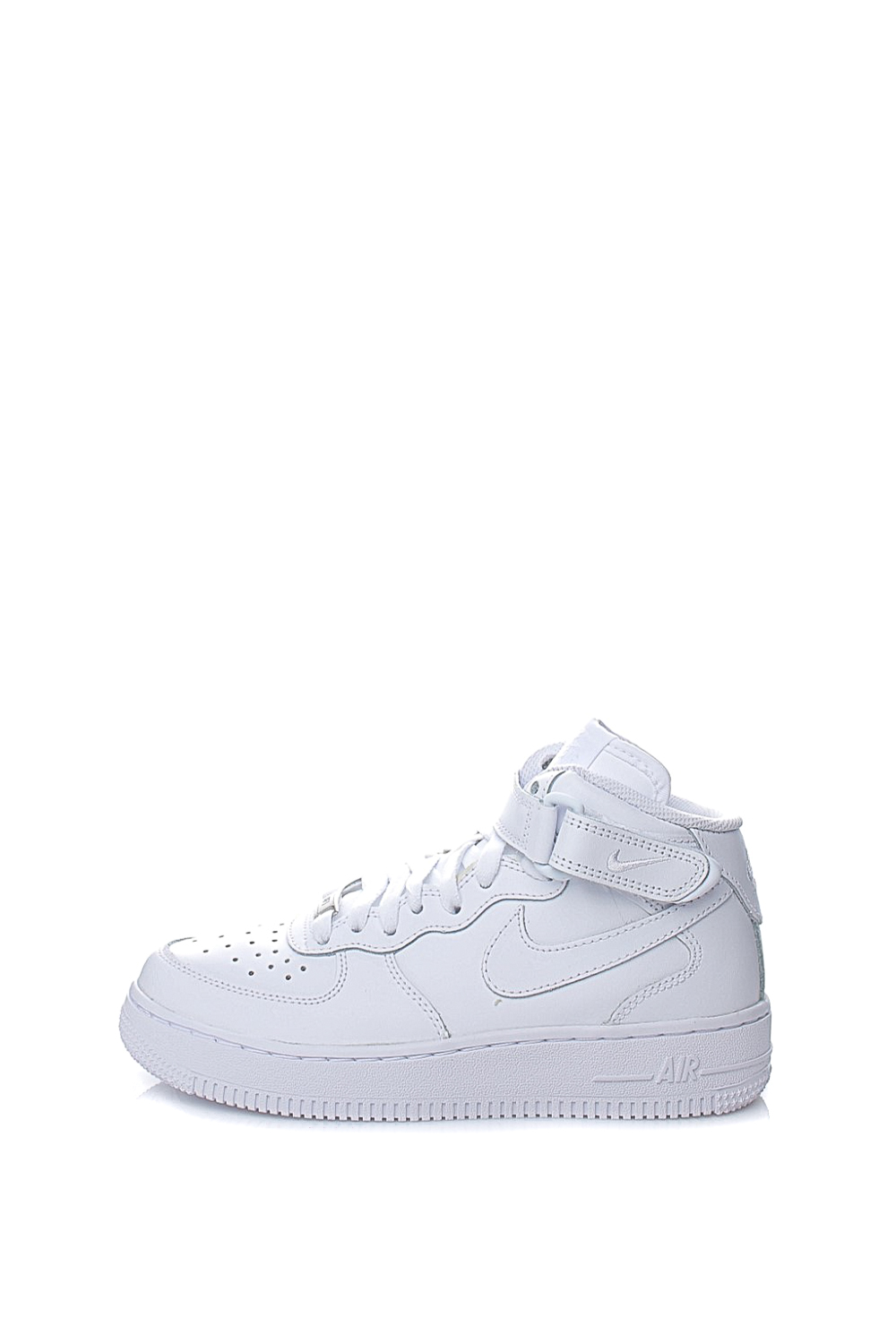 NIKE - Παιδικά αθλητικά μποτάκια AIR FORCE 1 MID λευκά - Roe Shoes ... e189069255a