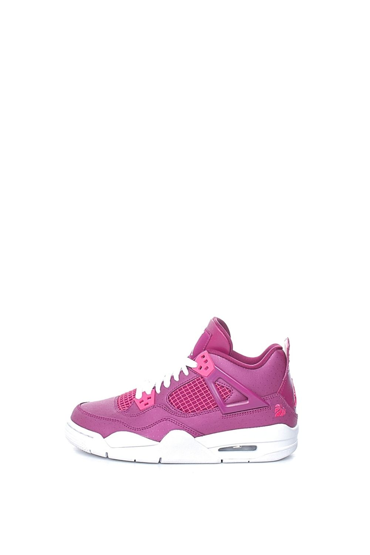 NIKE – Παιδικά παπούτσια NIKE AIR JORDAN 4 RETRO (GS) ροζ