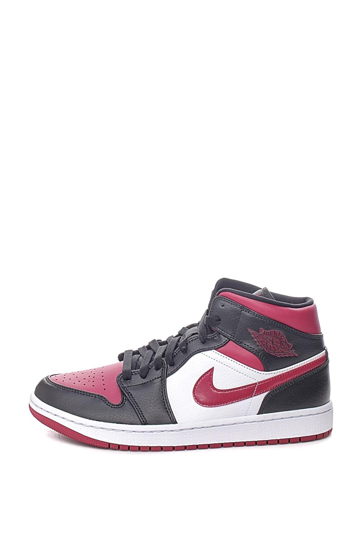 NIKE – Ανδρικά παπούτσια AIR JORDAN 1 MID μαύρο κόκκινο