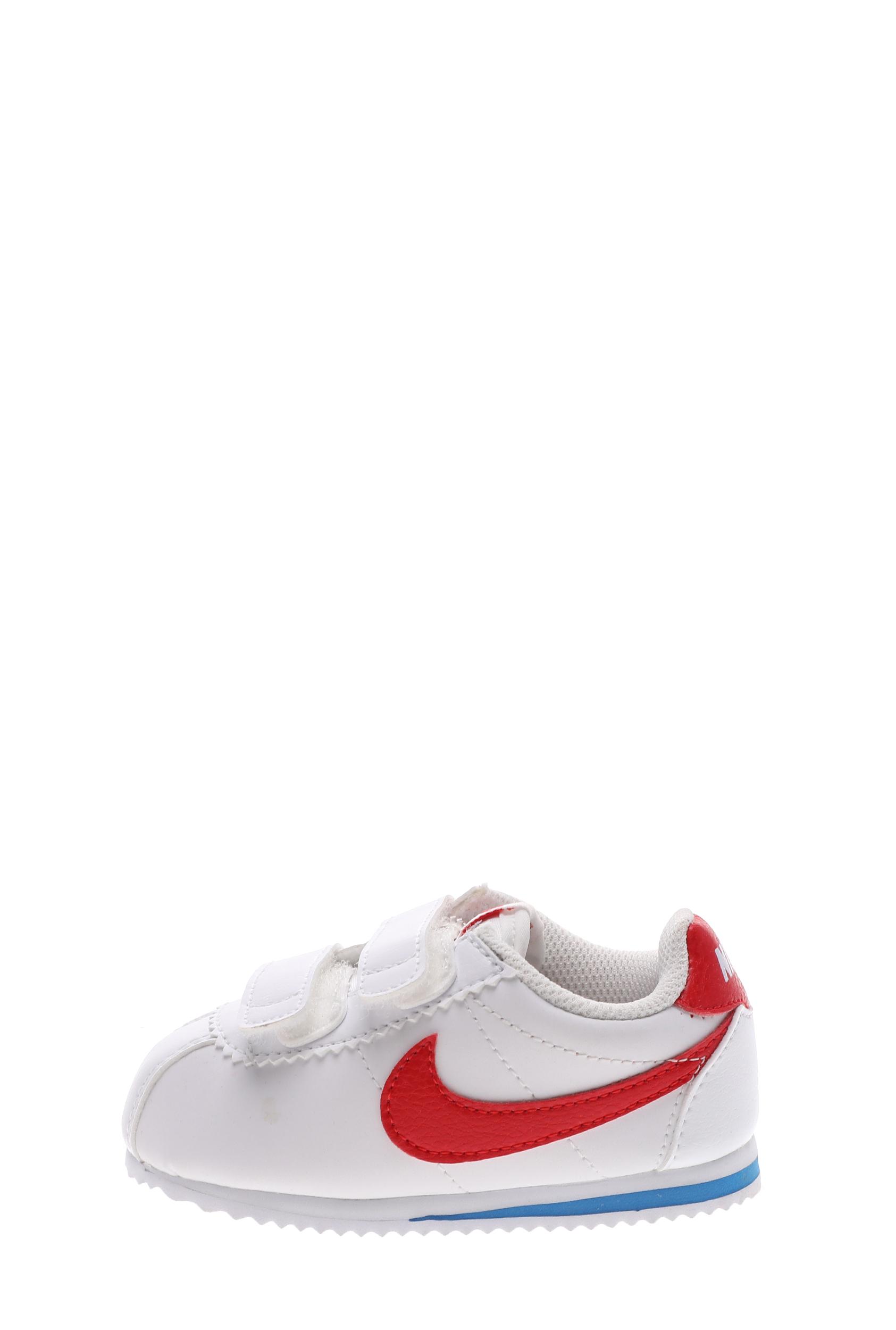 NIKE – Βρεφικά αθλητικά παπούτσια NIKE CORTEZ (TDV) λευκά