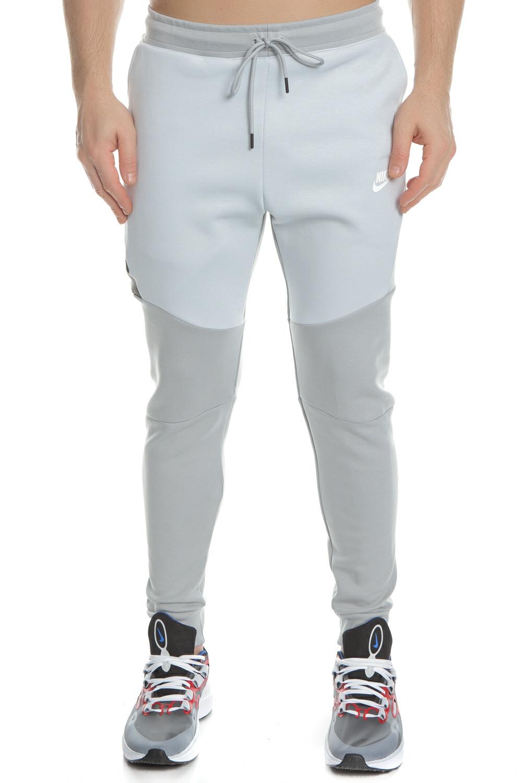 NIKE - Ανδρικό παντελόνι φόρμας NIKE Sportswear Tech Fleece γκρι