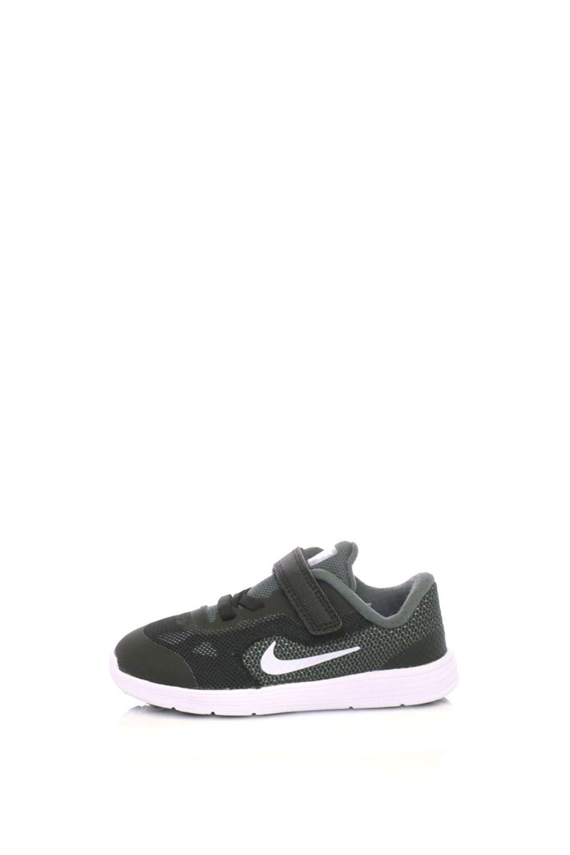 NIKE – Παιδικά αθλητικά παπούτσια NIKE REVOLUTION 3 (TDV) μαύρα-γκρι