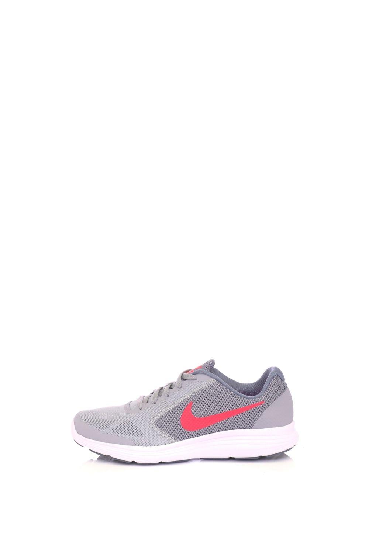 NIKE – Παιδικά παπούτσια running NIKE REVOLUTION 3 (GS) γκρι