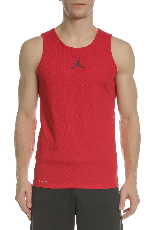 Sport-loft NIKE - Φανέλα μπάσκετ NIKE JORDAN RISE DRI-FIT κόκκινη 67b47d16add