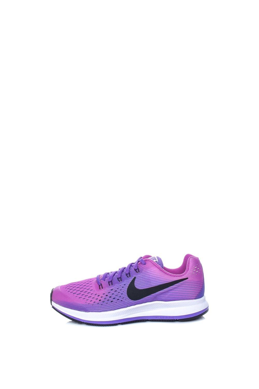 NIKE – Παιδικά παπούτσια running NIKE ZOOM PEGASUS 34 μοβ